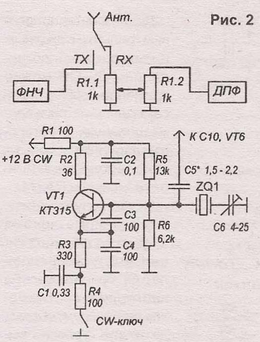 ДПФ от трансивера RA3AO.